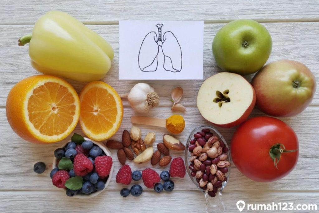 makanan sehat paru paru