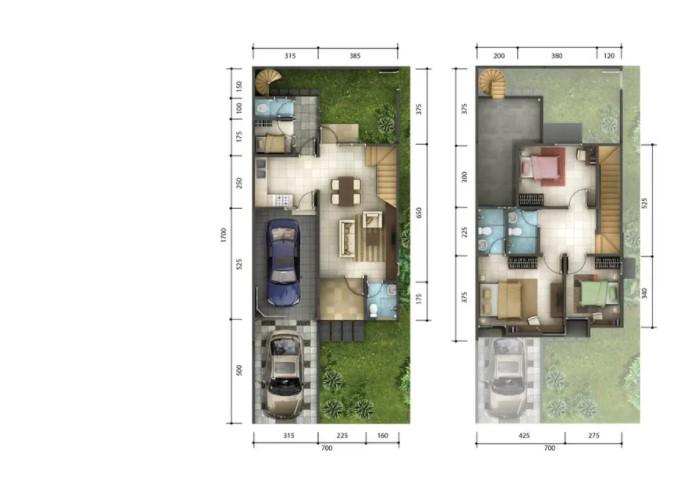 Canary Residence Rumah Minimalis dengan Garasi