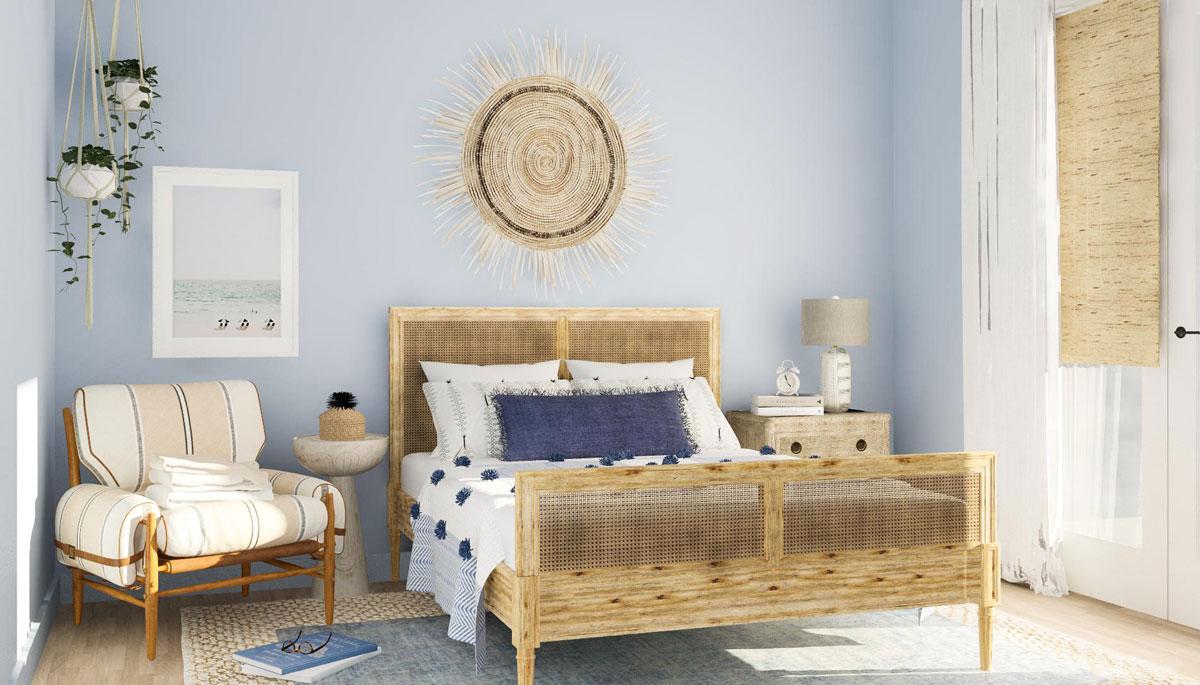 warna cat kamar biru muda