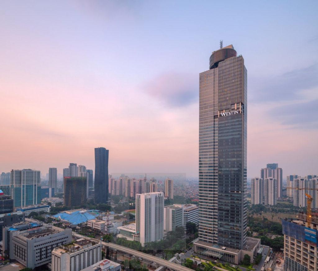 gama tower gedung tertinggi di indonesia