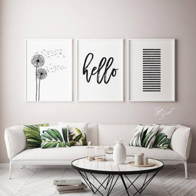 ruang keluarga minimalis skandinavia