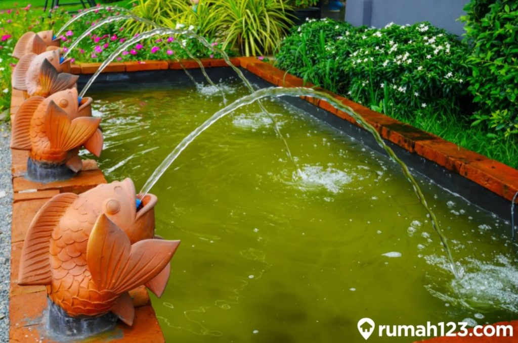 feng shui kolam