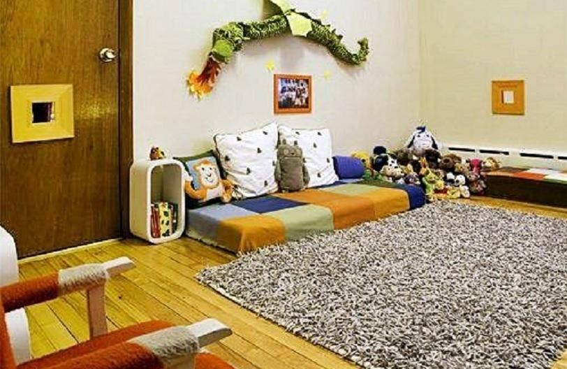 ruang keluarga lesehan