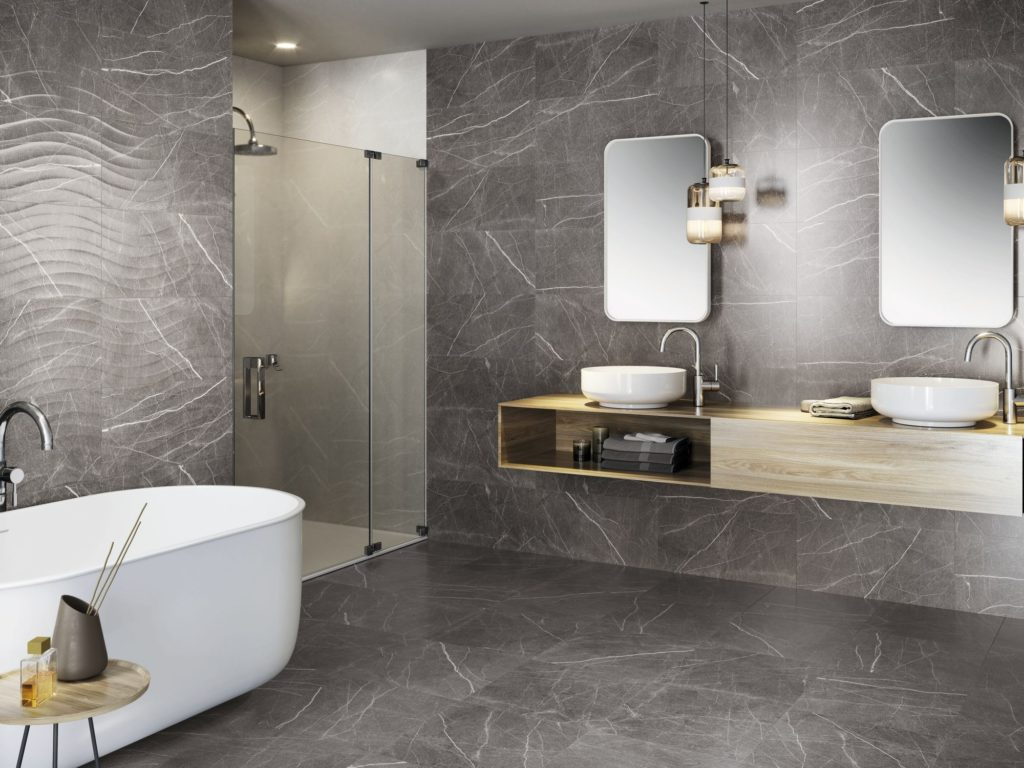 marmer untuk kamar mandi industrial