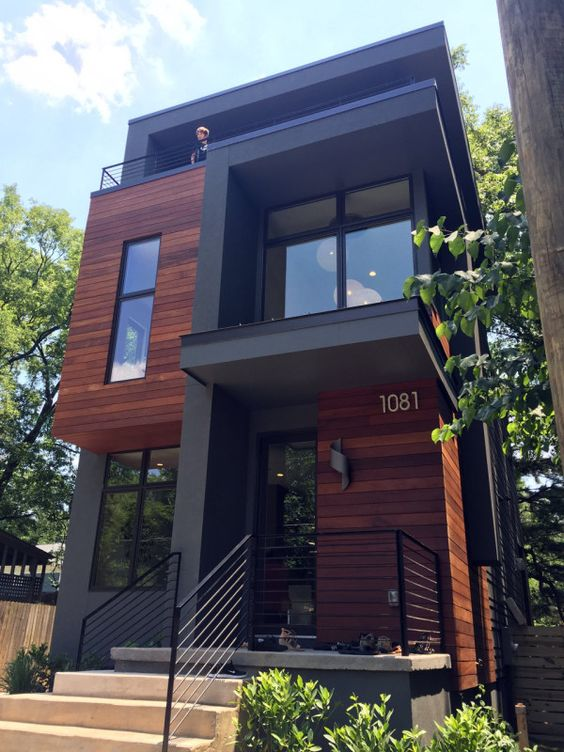 desain rumah minimalis monokrom 5