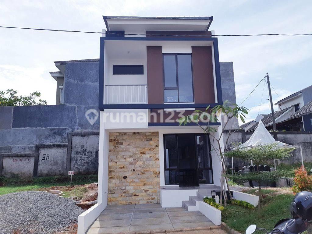 rumah minimalis 2 lantai pinggir Jakarta