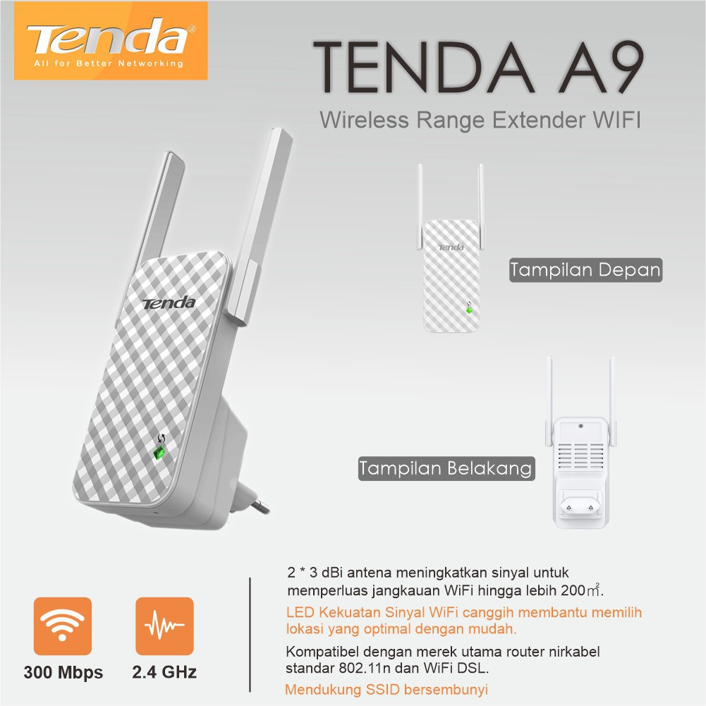 Tenda Range Extender WiFi