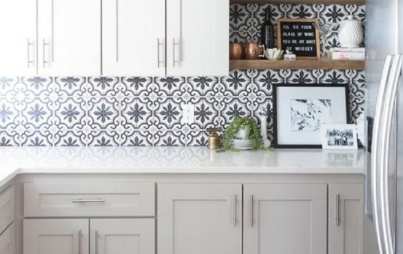 motif keramik dinding dapur