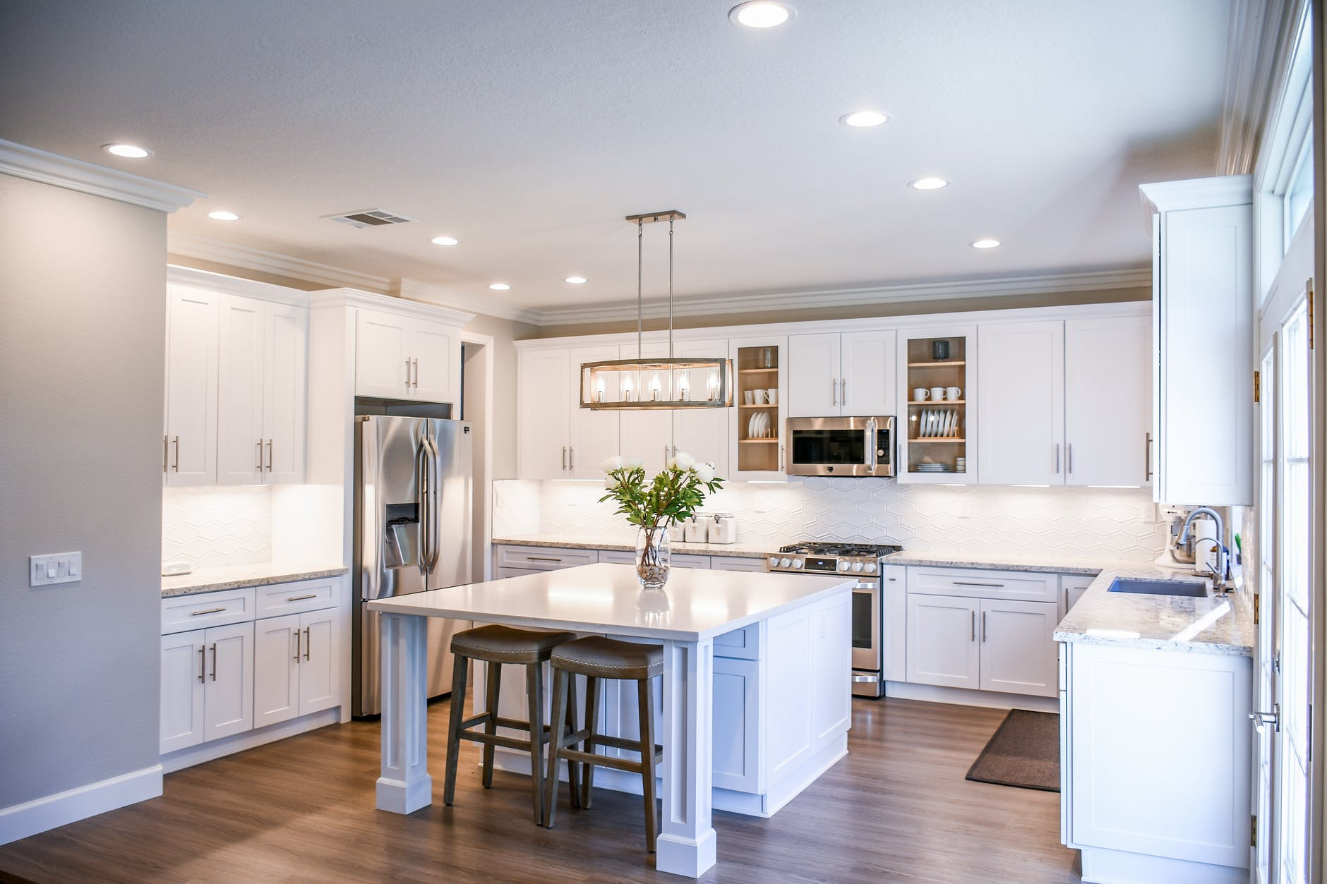 dapur terbuka Ruang Tengah
