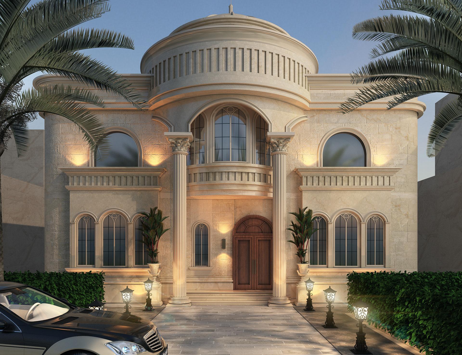 Desain rumah minimalis Timur Tengah