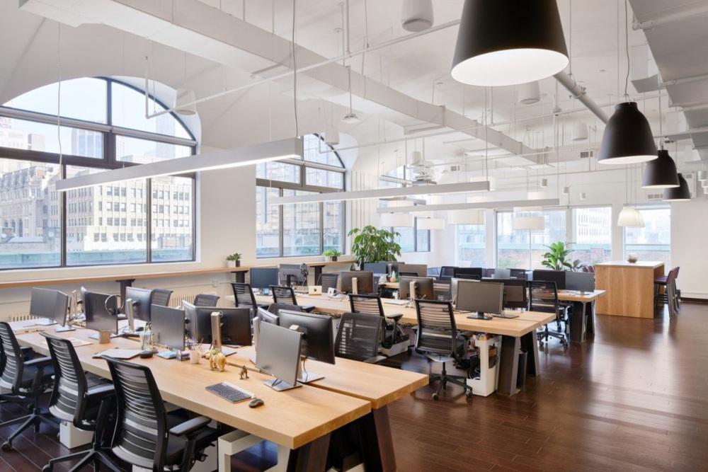 ruang kantor terbuka