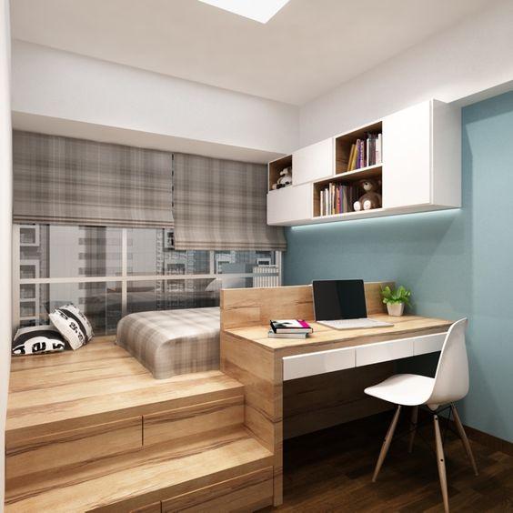 Desain kamar tidur minimalis Jepang