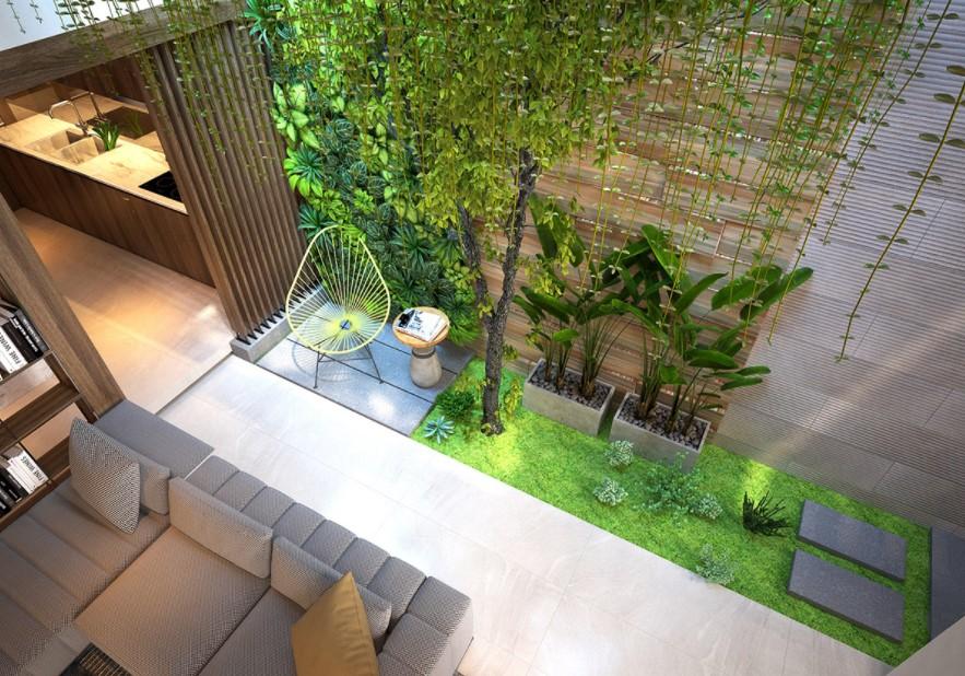 Rumah Open Space Ligkungan Sehat