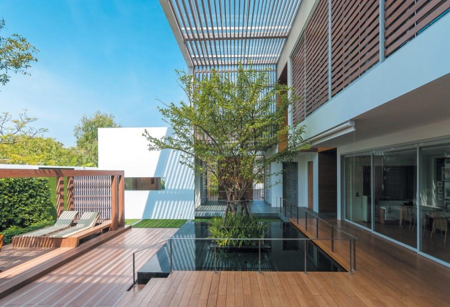Rumah Open Space Sirkulasi Udara Lebih Segar