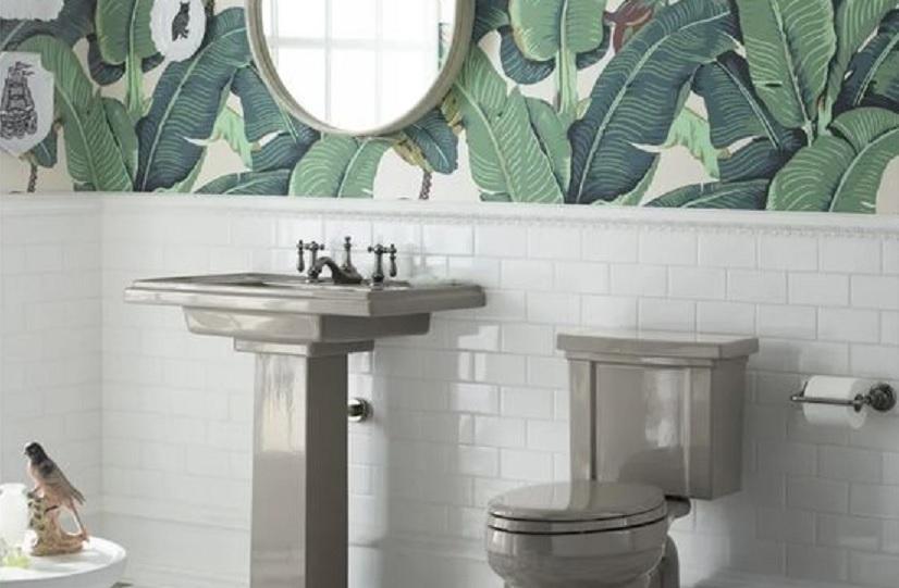 wallpaper kamar mandi