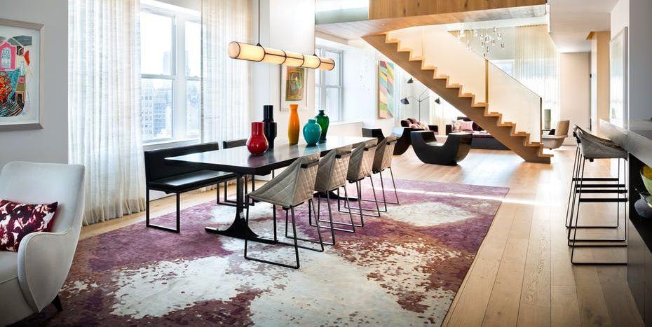 Apartemen Tipe Loft Contemporary design