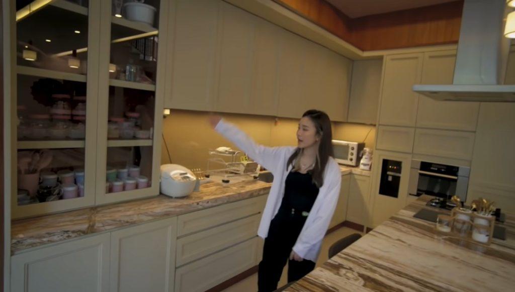 dapur rumah jessica jane