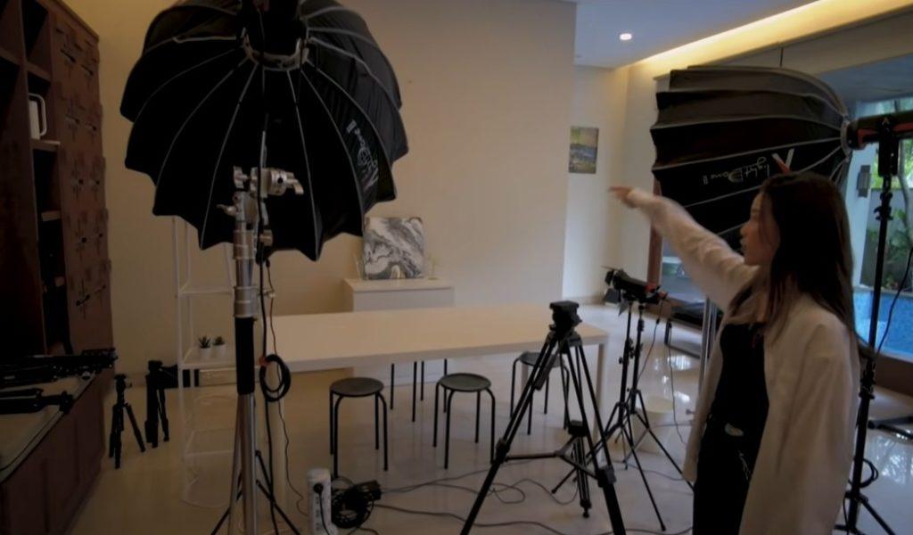 tempat shoot video rumah jessica jane