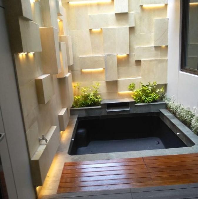 kolam minimalis kekinian