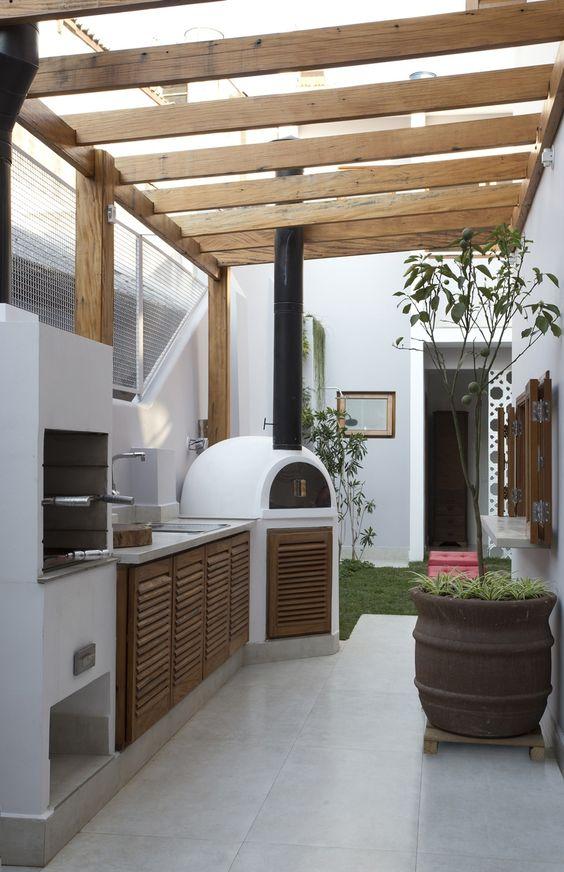Dapur minimalis modern belakang