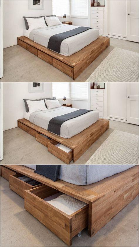 lemari di tempat tidur