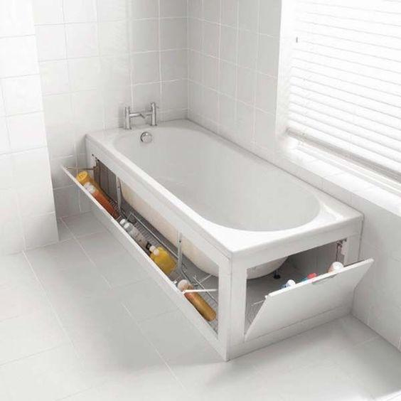 penyimpanan di bathtub
