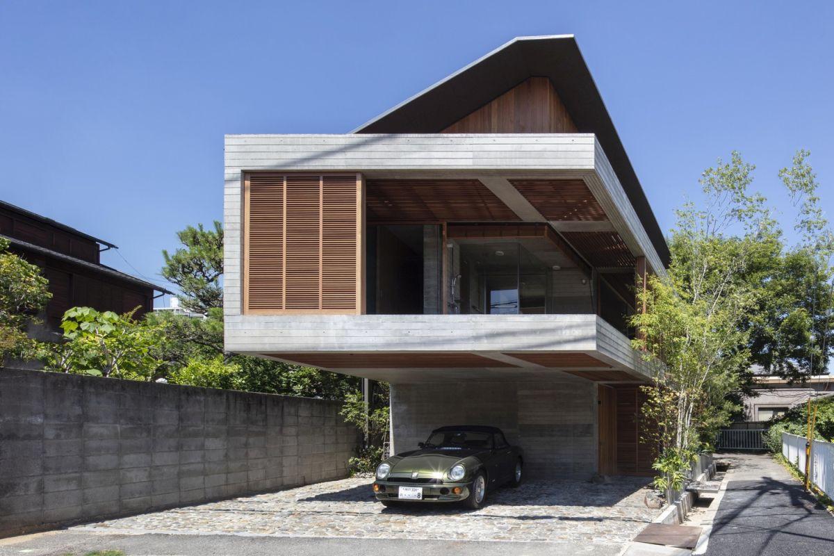 Rumah Tumbuh Bergaya Jepang