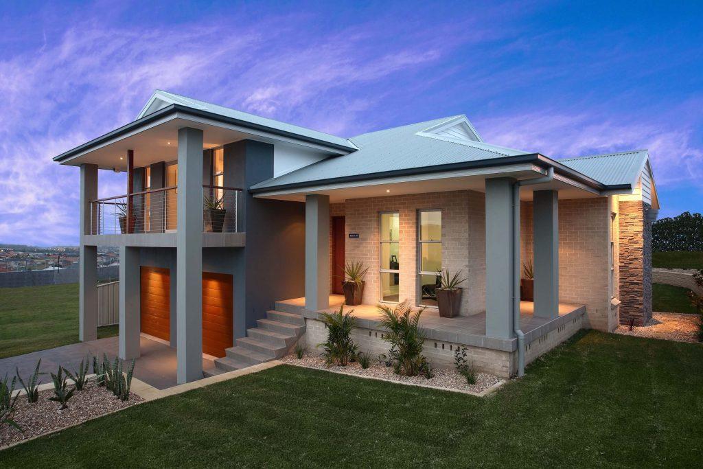 Rumah Tumbuh dengan Konsep Split Level