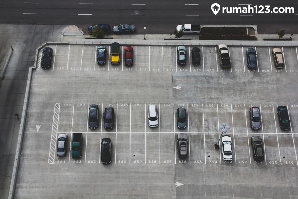 membuat tempat parkir