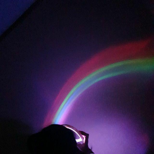 lampu rainbow