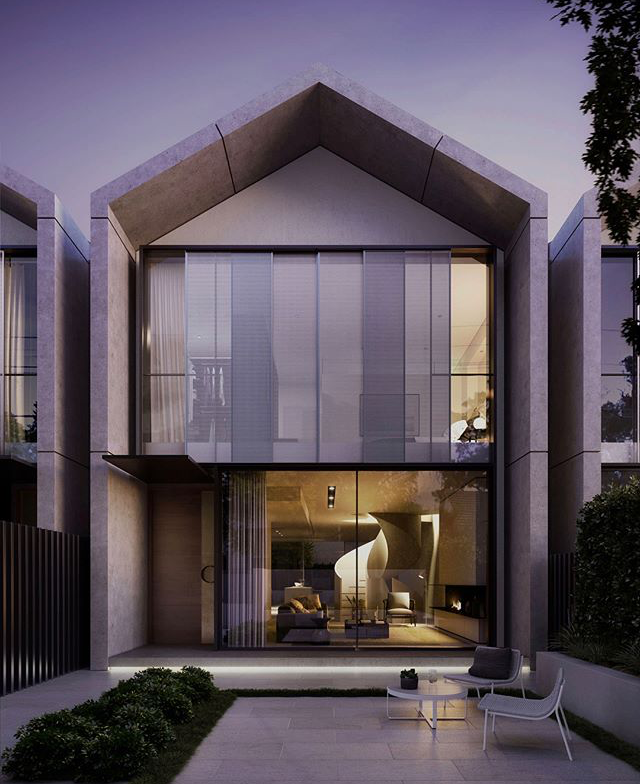 Rumah Minimalis Modern 2 Lantai