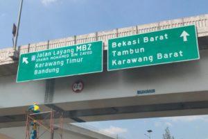 Jalan Tol Layang MBZ Ditutup Saat Pelarangan Mudik 2021