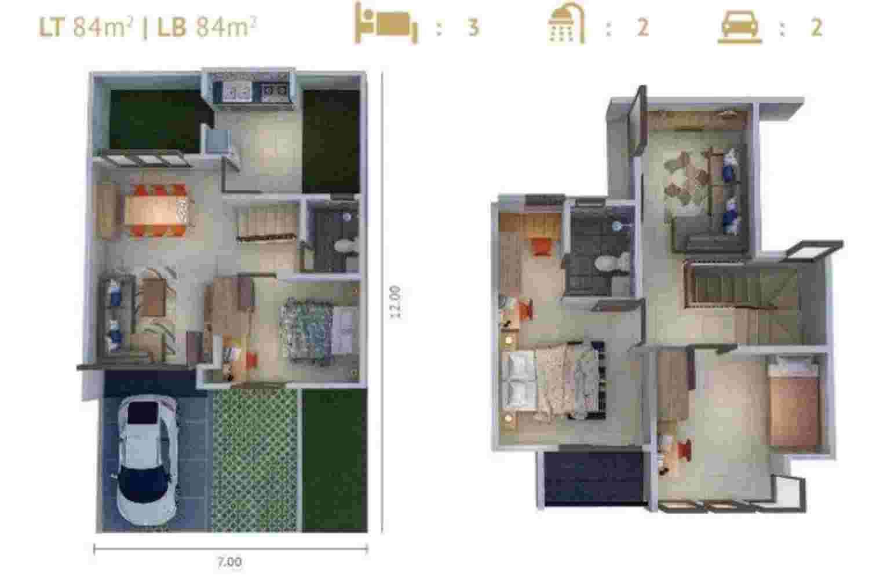 Denah Premier Estate 3