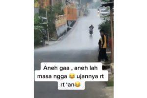 Viral Video Hujan Lokal Antar RT, Begini Penjelasan BMKG
