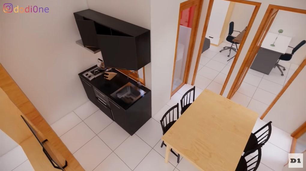 dapur dan ruang makan