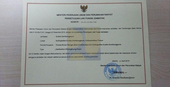 sertifikat laik fungsi
