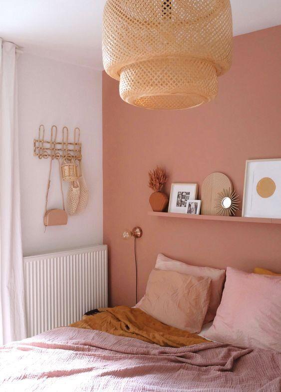 Kamar tidur minimalis Pink_4