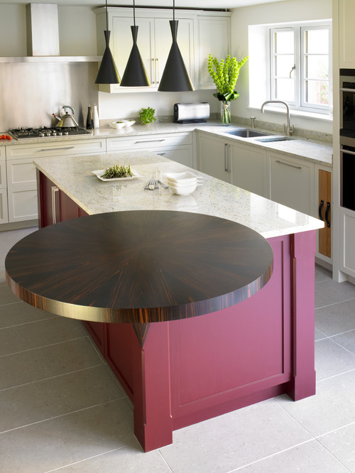 Model dapur minimalis Merah Maroon_4