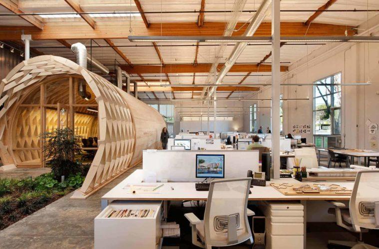 desain kantor unik artistik