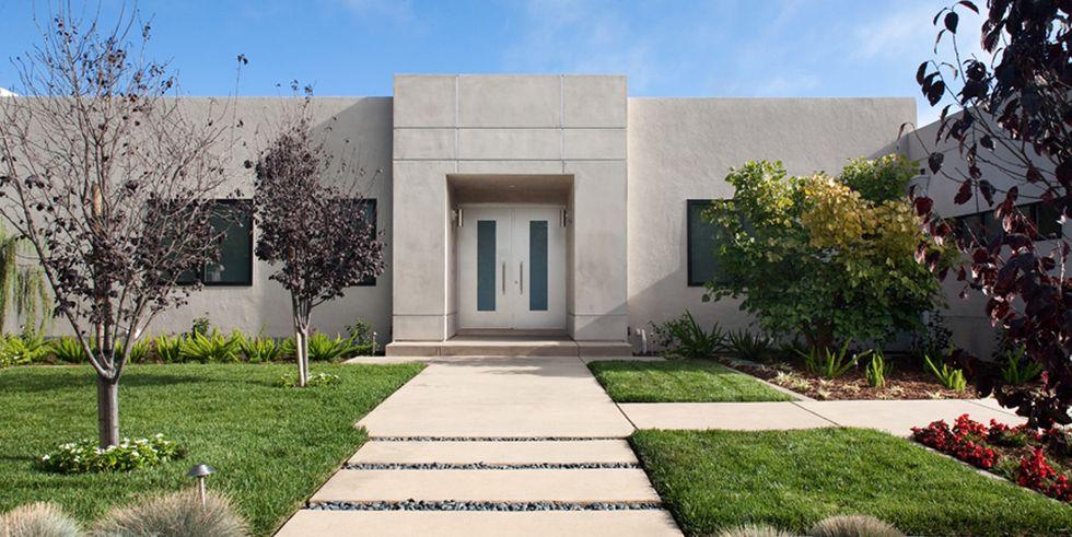 rumah idaman modern gaya unfinished