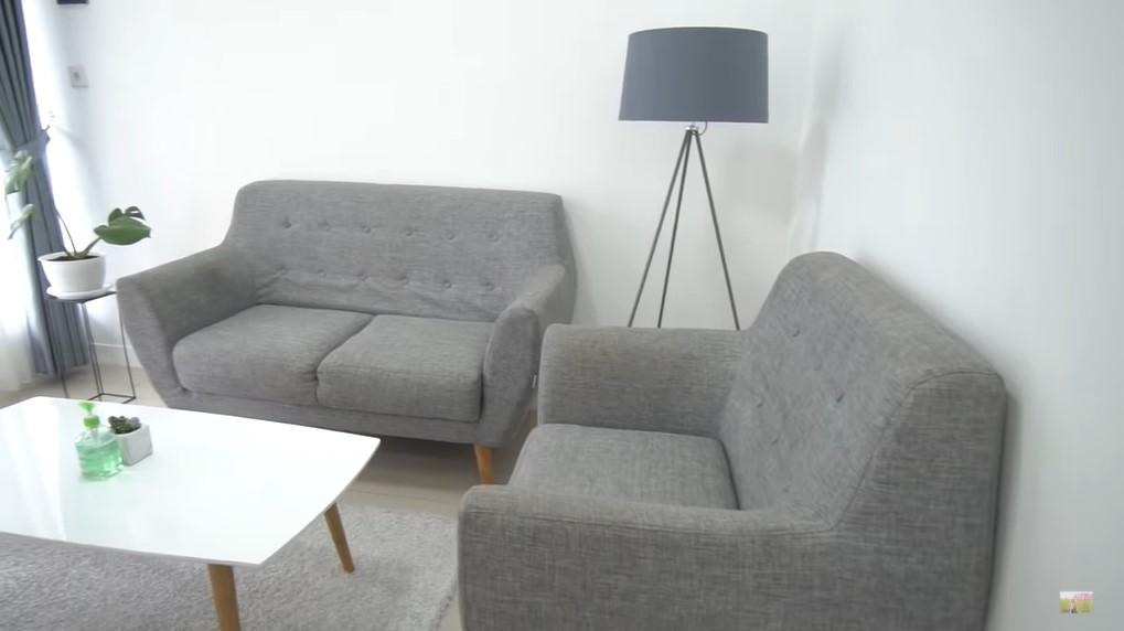 ruang tamu minimalis rumah tki korea
