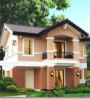 Rumah minimalis 2 lantai Krem_11