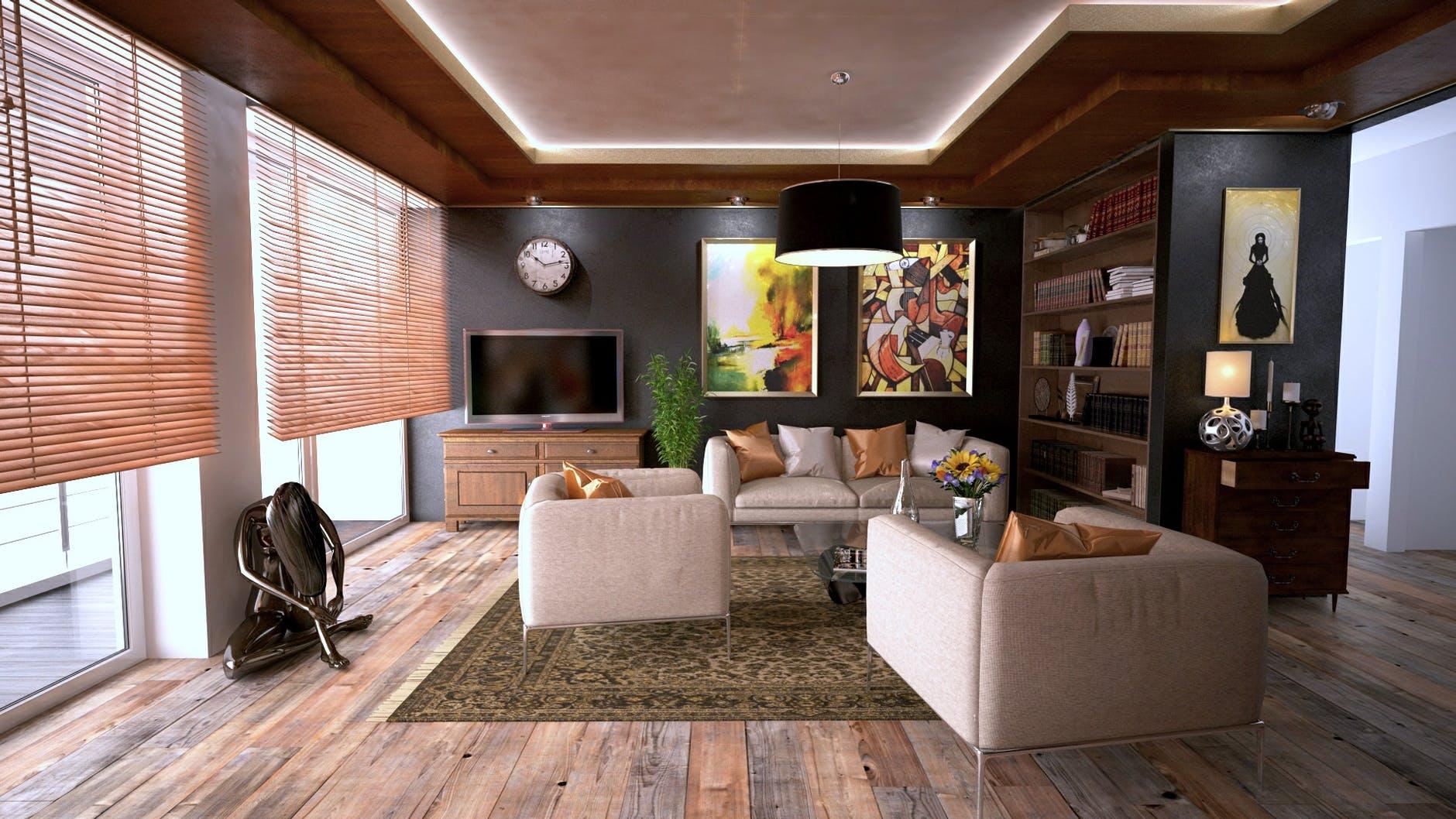 Desain Apartemen 2 Kamar - Batas