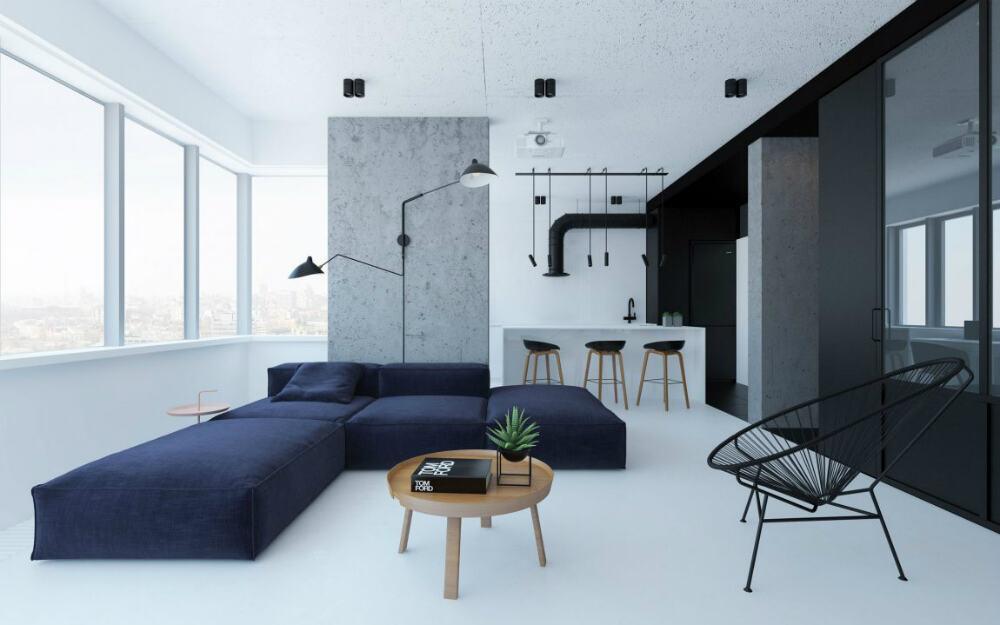 Desain Apartemen 2 Kamar - Maksimalkan Ruang