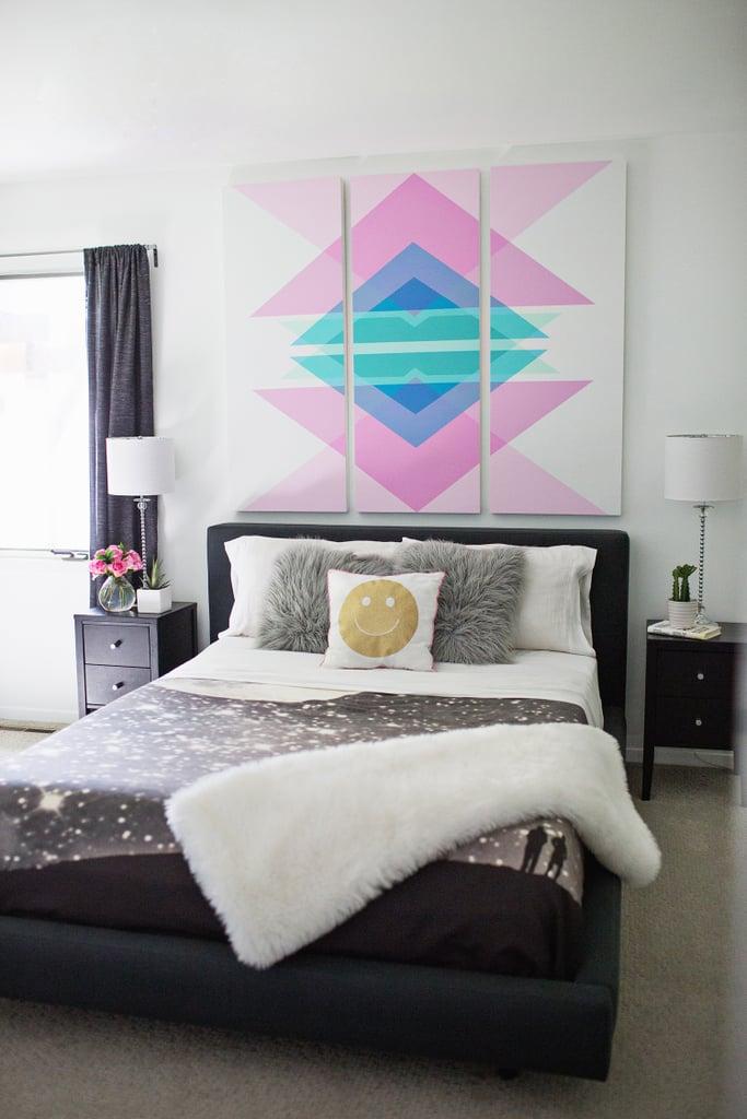 interior kamar tidur Aries