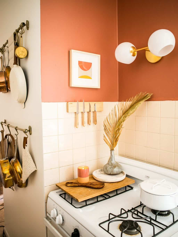 Desain dapur minimalis Oranye_1