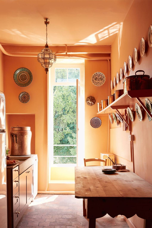Desain dapur minimalis Oranye_7