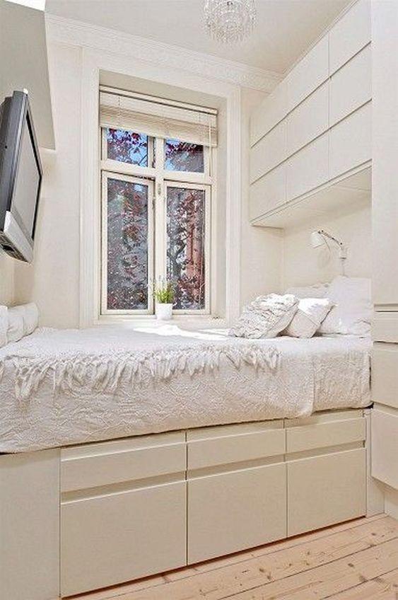 Kamar tidur minimalis Putih_7
