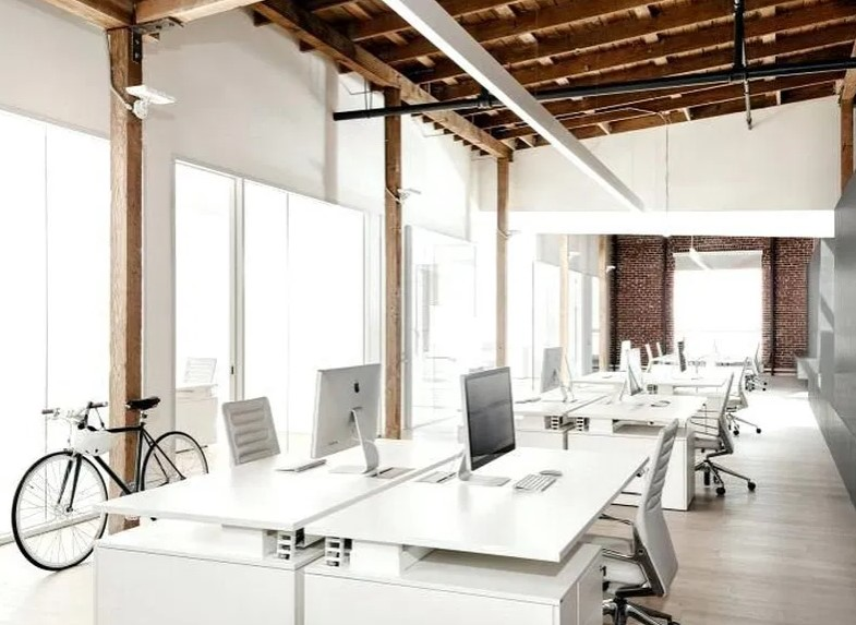 Desain Kantor Sempit Minimalis