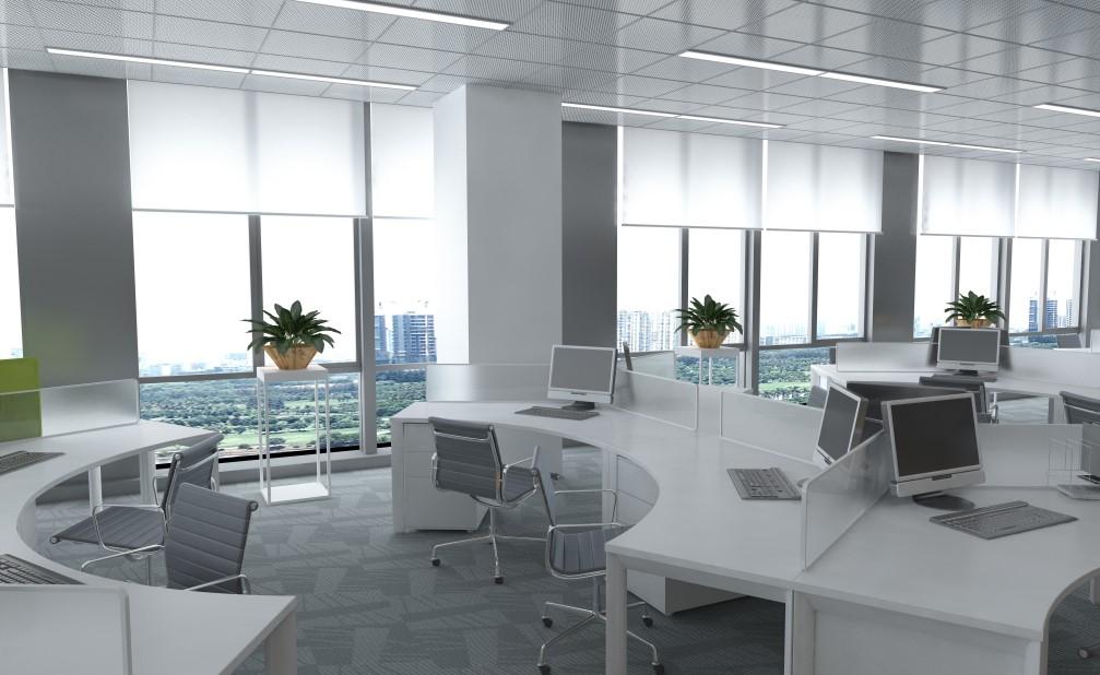 Menata Ruang Kantor yang Sempit Tanpa Sekat